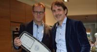 Raymond Danklof en Innovatiecoach Marc Yzer