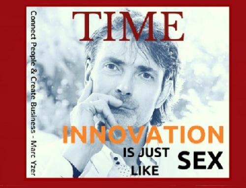 Innovatie is net als seks: mensen praten er vaker over dan dat zij 't doen!